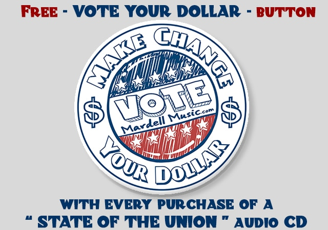 vote your dollar button image
